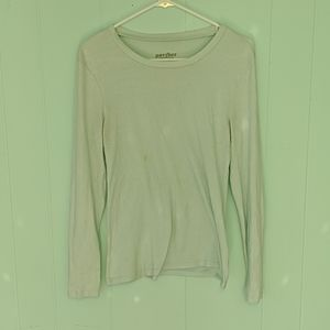 Old Navy Light Blue Long Sleeved Perfect Sz M